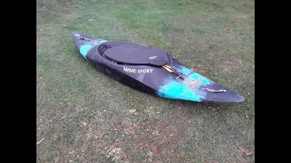 Photo White water play boat - $250 (Greene)