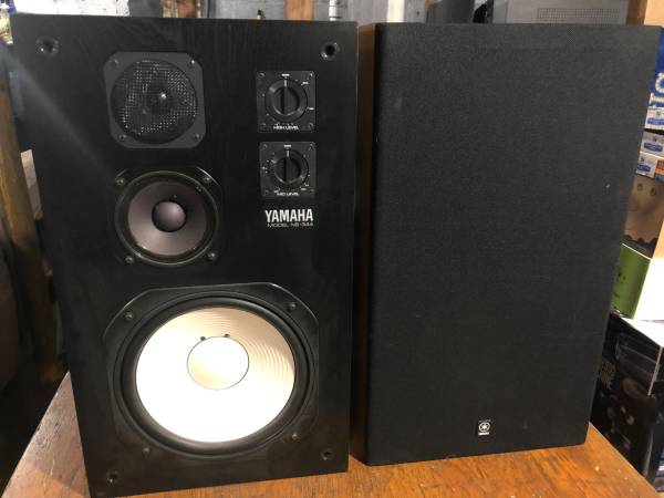 Photo Yamaha NS-344 Stereo Speakers - $325