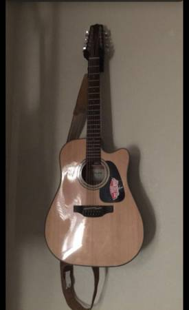 Photo 12 string takamine G-Series - $250 (El Paso)