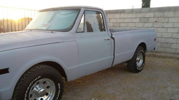 Photo 1967 Chevy k20 34 ton truck - $8000 (Canutillo)