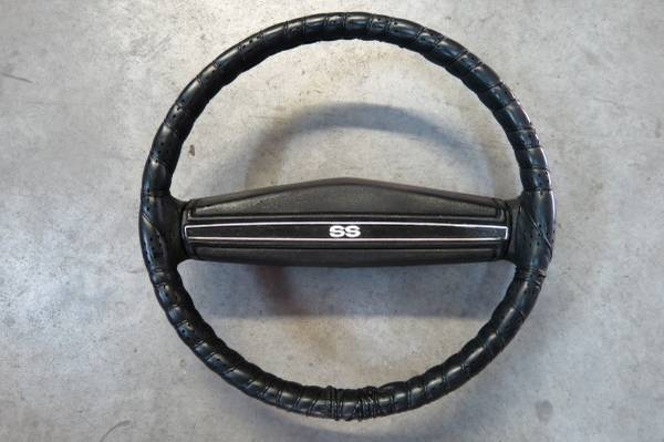 Photo 1972 Chevelle SS Original steering wheel (Nova,Camaro,Chevelle) - $250 (El Paso)