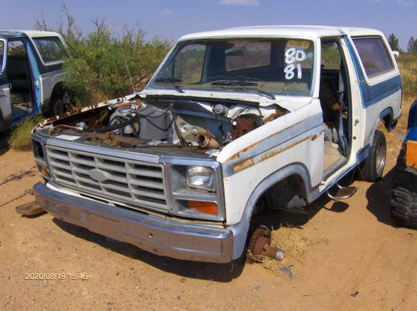 Photo 1980 to 1985 ford bronco parts 4x4 engine transmission axle ect.., - $15 (chaparral)