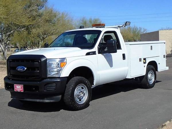 Photo 2011 FORD F250 XL 4X4 SERVICE BODY UTILITY BED WORK TRUCK LOW MILES - $17995 (Phoenix)