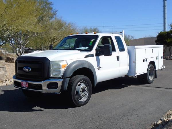 Photo 2011 FORD F450 EXTENDED CAB SERVICE BODY UTILITY BED DIESEL WORK TRUCK - $12995 (Phoenix)