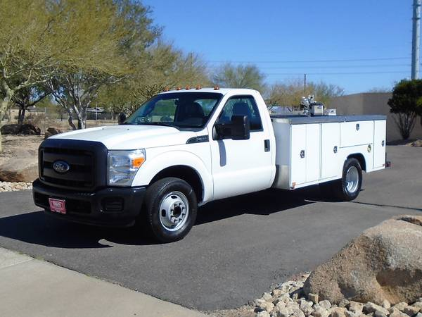 Photo 2012 FORD F350 11FT SERVICE BODY UTILITY BED WORK TRUCK - $15995 (Phoenix)