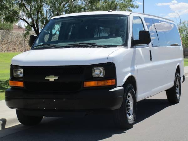 Photo 2013 CHEVROLET EXPRESS 3500 CARGO VAN 6.0L V8 ONE OWNER - $10995 (CARRERA MOTORS 5940 DONIPHAN EL PASO TX)