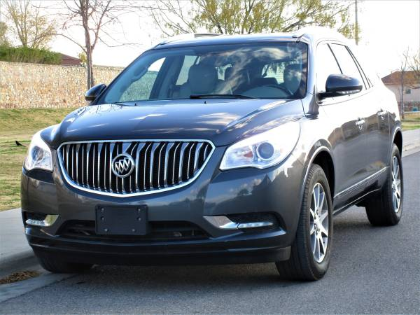 Photo 2014 BUICK ENCLAVE V6 LEATHER THIRD ROW BACK UP CAM CLEAN TITLE - $13500 (CARRERA MOTORS 5940 DONIPHAN EL PASO TX)
