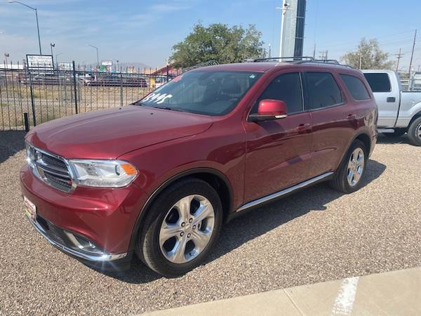 Photo 2014 DODGE DURANGO LIMITED72,000 MILES13,995  72,000 MILES - $13,995 (7587 ALAMEDA AVE EL PASO TX 79915)