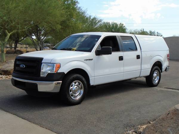 Photo 2014 FORD F-150 XL CREW CAB WORK TRUCK WITH UTILITY SHELL - $10,995 (Phoenix)