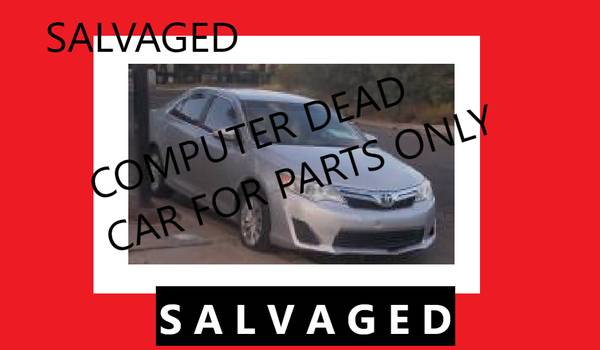 Photo 2015 Toyota Camry PARTS ONLY - Salvage - FLORIDA CAR - $850 (El Paso Delivered to YOU)