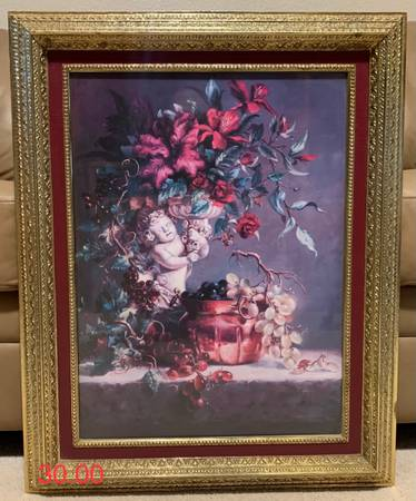 Photo 5 pictures and paintings in great condition Norman Rockwell copy painting - $20 (El Paso)