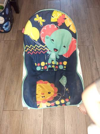 Photo Baby items.. playpen,high chair,bouncer,training potty