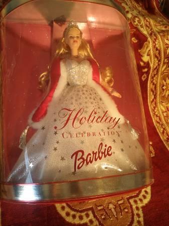 Photo Barbie 2001 - New - Holiday Celebration - $125 (EL Paso)