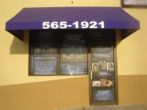 Photo Beauty Salon - $6,000 (4015 dyer street Suite B)