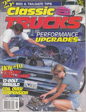 Photo CLASSIC TRUCKS MAGAZINE 1997 REALLY NICE TRUCK PHOTOS - $5 (Chaparral)