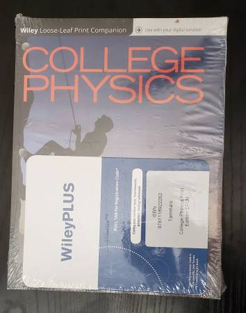 Photo College physics book w access code - $50