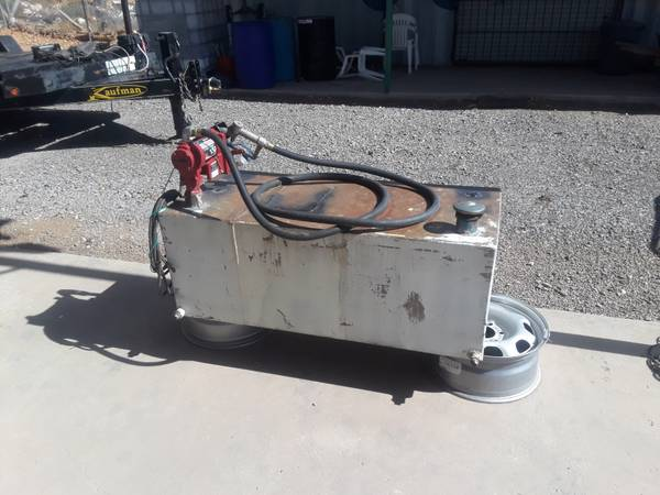 Photo Fuel Tank for Diesel with pump - $875 (Horizon City)