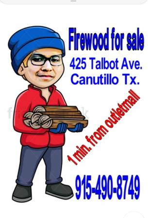 Photo Got cold firewood for sale - $1 (Near outlet mall)