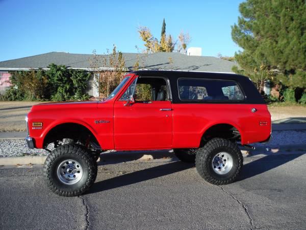 Photo I Want To Buy a Chevy Blazer or Jimmy Bronco FJ40 1969 -1976 - $10,000 (El Paso)