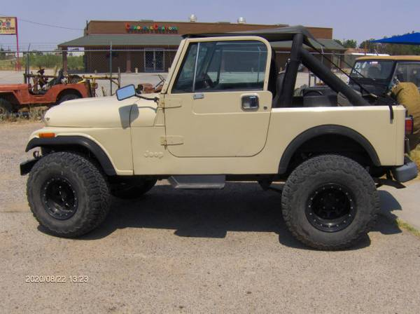 Photo Jeep 1986 Cj 7 258 engine w fuel injection 4x4 4 inch 33 inch BFG - $8,500 (Chaparral)