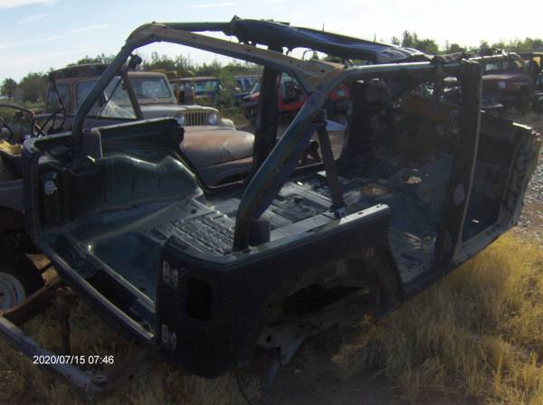 Photo Jeep jeep JK 4 door 2007 and up, frame body parts Harddoors Hard doors - $250 (Chaparral)