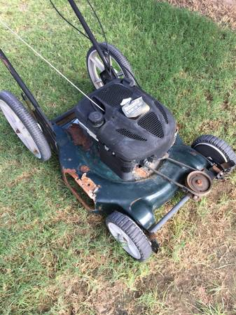 Photo Lawn Mower Briggs and Stratton 6.25 hp - $140 (Upper Valley)