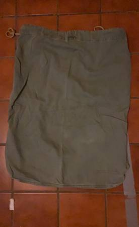 Photo Military issue heavy duty canvas bags - $15 (El Paso)