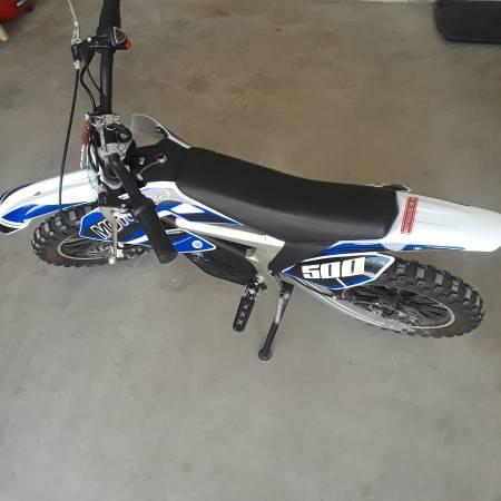 Photo Mototec 500 - Electric Mini Motorcycle - Plus Accessories- Used - $450 (El Paso)