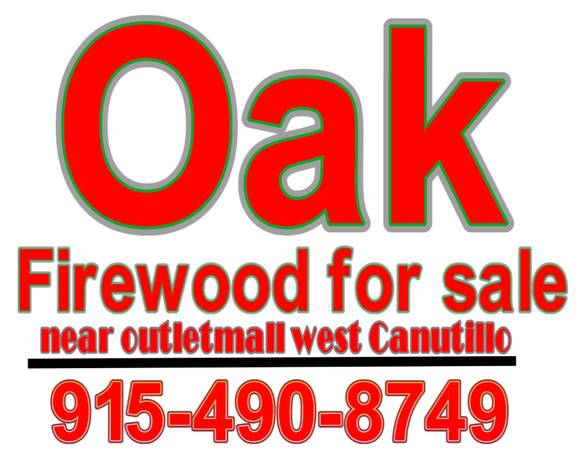Photo Oak Firewood for sale $30 - $30 (Near outlet mall)