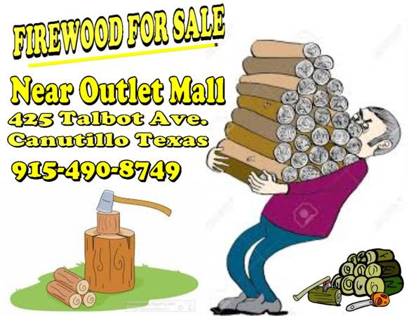 Photo Open all day today firewood for sale - $1 (Near outlet mall)