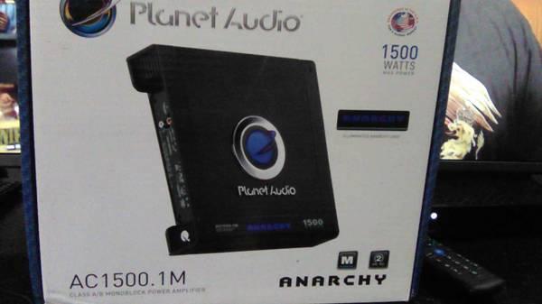 Photo Planet audio lifier - $80 (El.Paso)