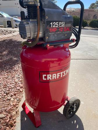 Photo SOLD Craftsman Air Compressor (Repair Required) - $30 (El Paso (Westside))