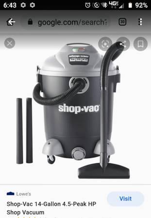 Photo Shop-Vac - 14-gallon WetDry quotBRAND NEWquot - $100 (El Paso)
