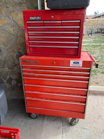 Photo Snap-on snap on toolbox - $450 (Central el paso)