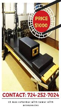 Photo VERY NICE V2 MAX PILATES EQUIPMENT PACKAGE (WALL TOWER, REFORMER) (el paso gt)