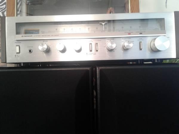 Photo Vintage Pioneer SX - 3400 Stereo Receiver - $100 (El Paso)