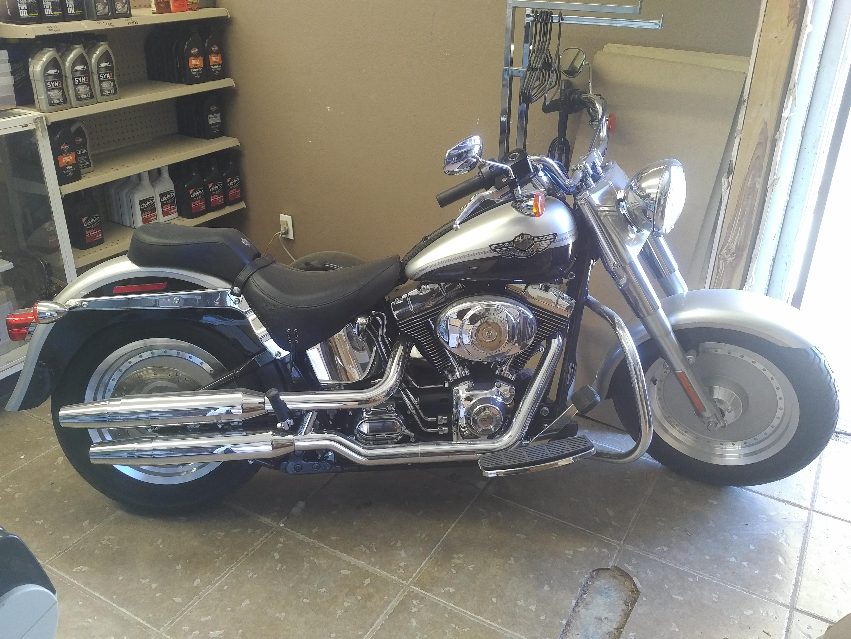 Photo 2003 Harley-Davidson FAT BOY $9000190.80190.80