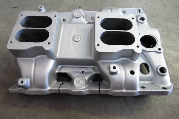 Photo Very Rare Dual Quad Aluminum intake for Pontiac   - $400 (El Paso)