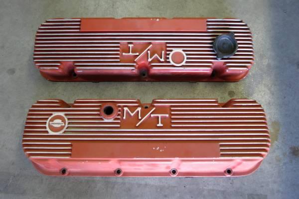 Photo Vintage MT Chevrolet Big Block finned valve covers  - $125 (El Paso)