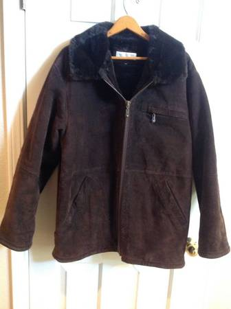 Photo new york suede jacket mens sz M (Canutillo tx)