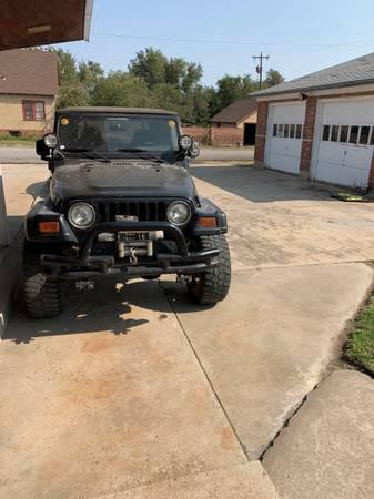 Photo 1997 Jeep Wrangler TJ - $9,000 (Arnett)