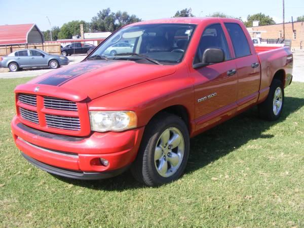 Photo 2004 Dodge Ram 1500 Quadcab pickup - $3950 (Enid)