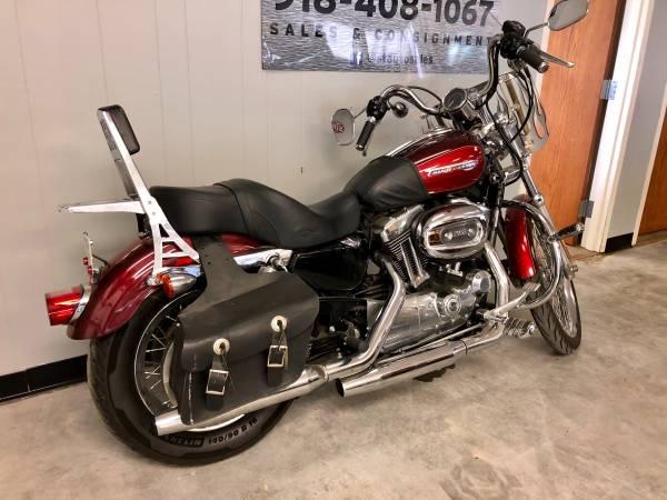 Photo 2008 Harley Davidson sportster custom low miles - $4,900 (indoor showroom)