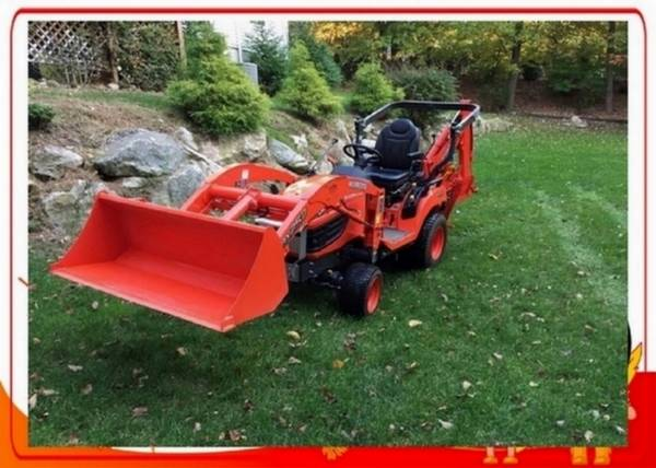 Photo 2013 KUBOTA BX25D Tractor with attachments - $1,002 (((Frazier Acres)))