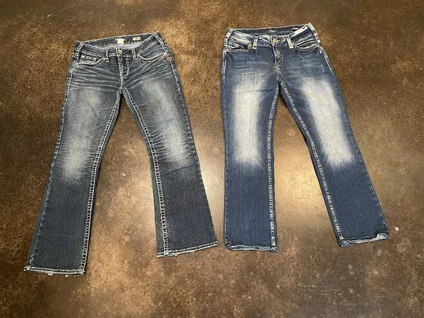 Photo 2 Pair of Silver Jeans - Size 30 - $60 (Stillwater)