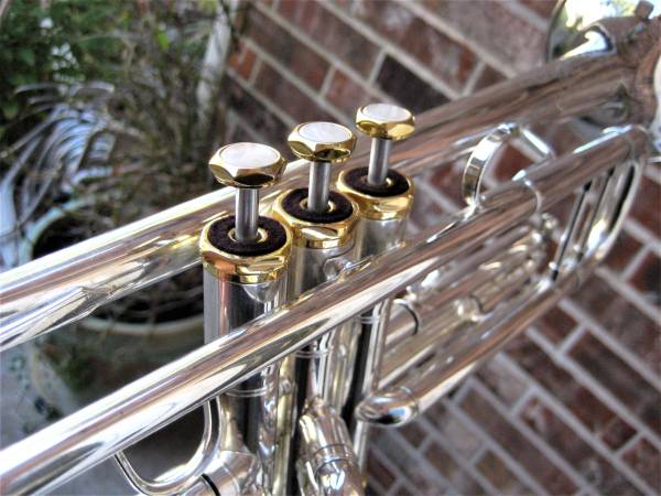 Photo CleanLubricated Andreas Eastman Silver Trumpet ETR520G Bach Mthpc - $750 (NW OKC)