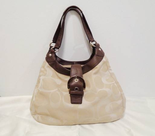 Photo Coach Soho Satchel Hobo Shoulder Handbag - $55 (YukonOKCMustang)