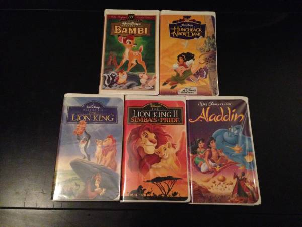 Photo Disney VHS Movies - $2 (Sachse)