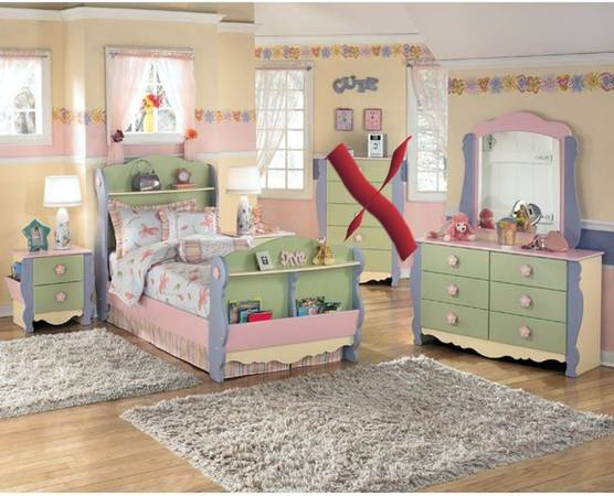 Girls Full Size Bedroom Set With Mattresses 325 Enid Ok Furniture For Sale North West Oklahoma Ok Shoppok