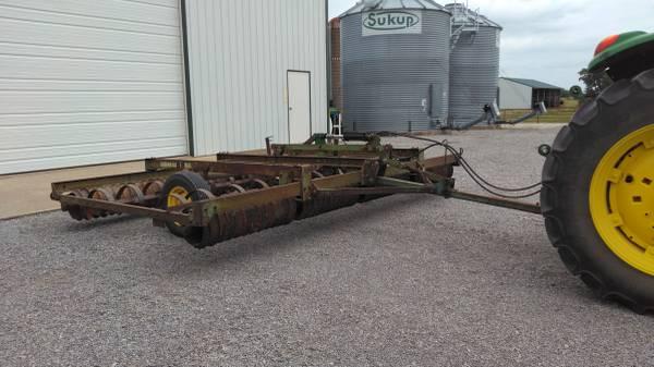 Photo John Deere 950 Roller Harrow - $3,850 (ADAIR)